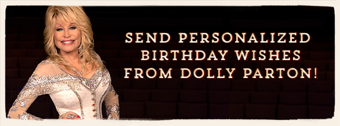 Dolly Parton Homepage Banner