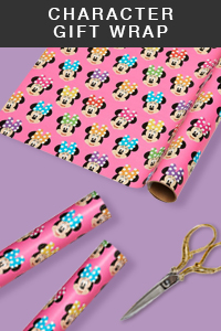 Character Gift Wrap