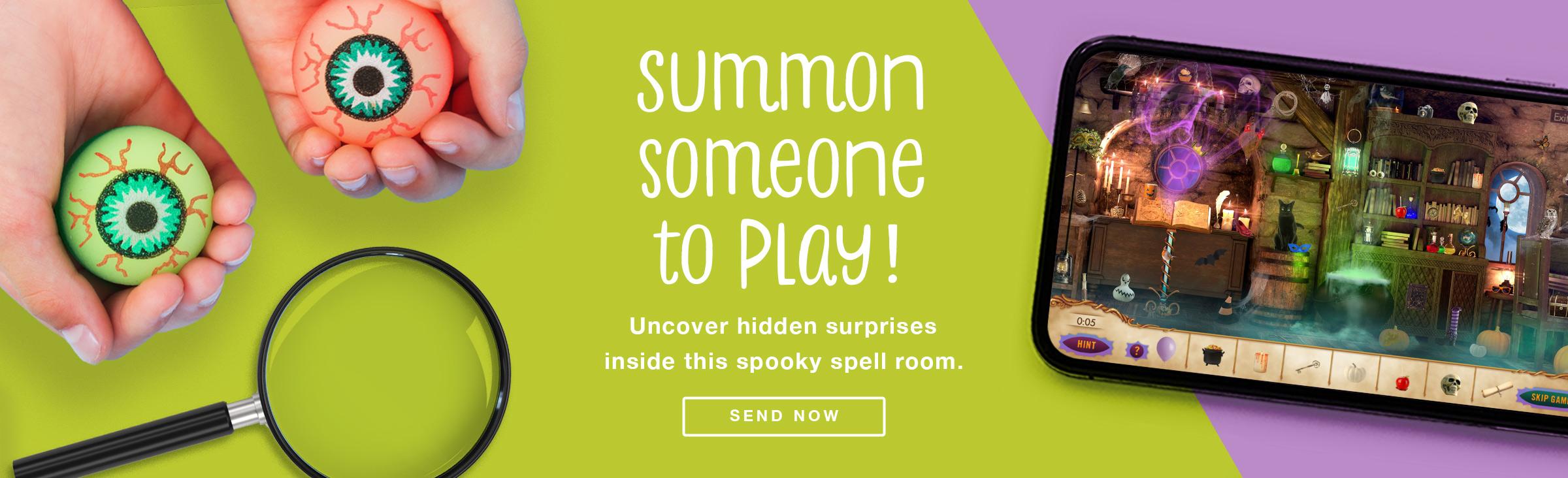 Halloween Hidden Objects - Send Now