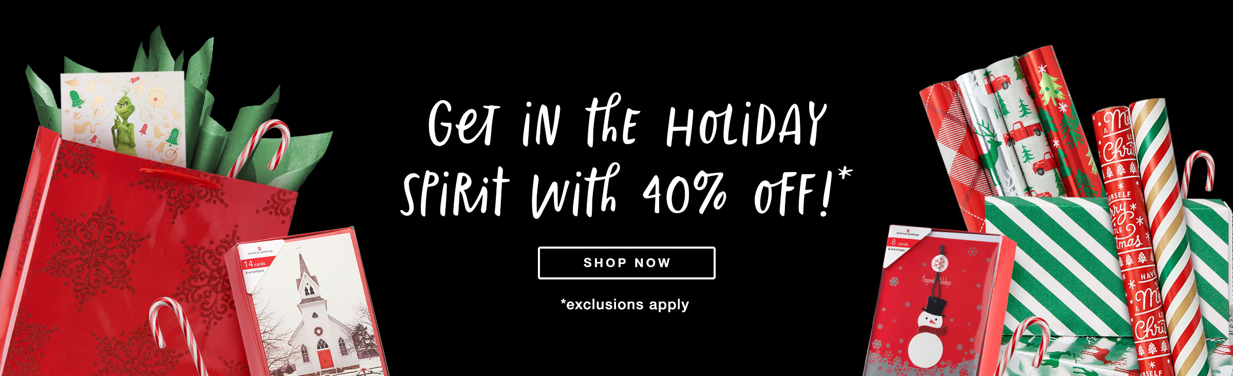 40% Off Shop