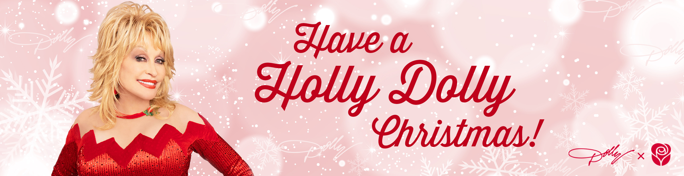 Holly Dolly Banner