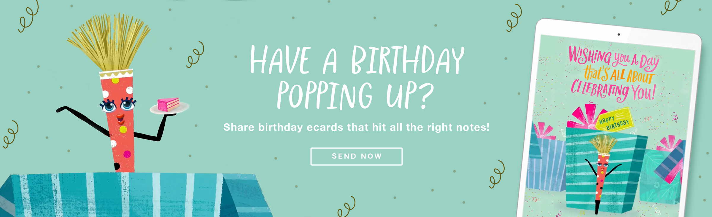 Poppin Birthday Ecard