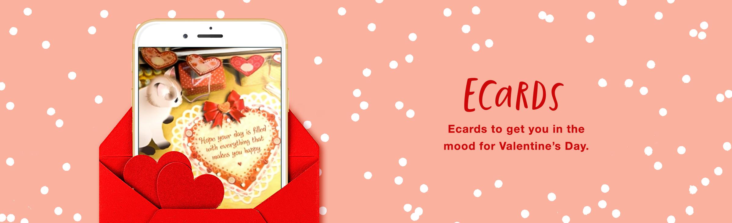 Valentine's Day Ecards Banner
