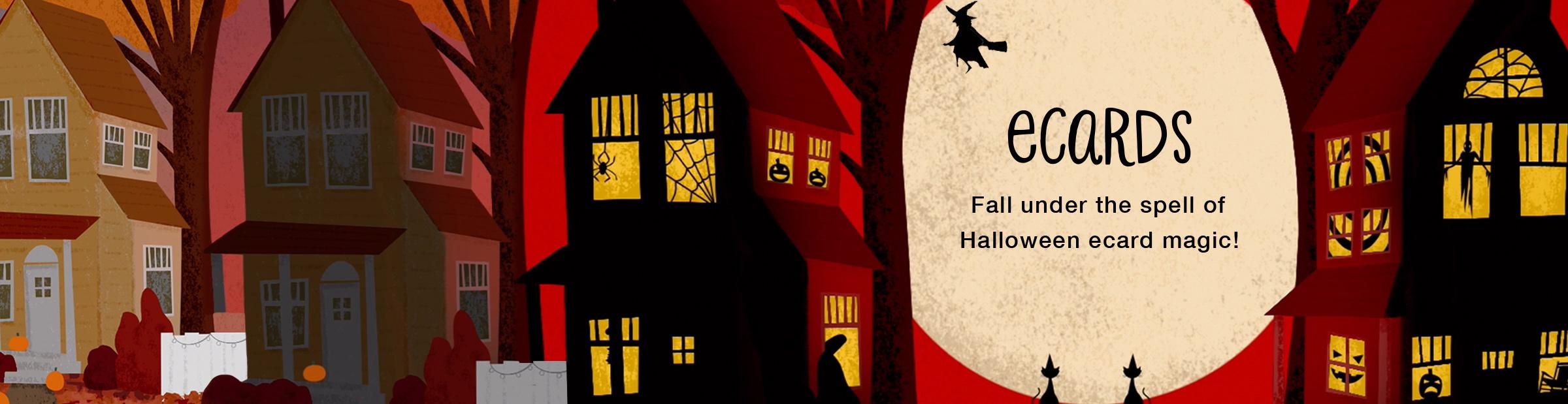 Halloween Ecards Banner