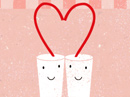 Two of a Kind Love Letter Valentine's Day Stationery