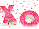 Hugs and Kisses Love Letter Valentine's Day Stationery