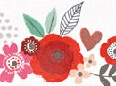 Blooming Wishes Love Letter Valentine's Day Stationery