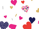 I Heart You Love Letter Valentine's Day Stationery