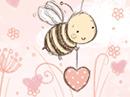 You Bee Special Love Letter Valentine's Day Stationery