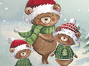 Beary Merry Christmas Stationery Christmas Stationery