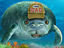 Manatee of the House Talking Card Father's Day eCards