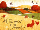 Warmest Thanks Reply Card