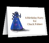A Birthday Party invitation