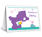 A Birthday Wish greeting card