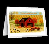 A Bountiful Time greeting card
