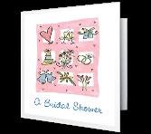 A Bridal Shower invitation