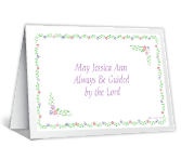 A Christening Prayer greeting card