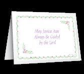 A Christening Prayer greeting card