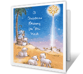 A Christmas Blessing greeting card