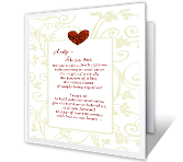 A Fresh Start greeting card