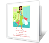 A Glowing Example greeting card