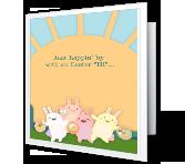 A Hoppy Wish greeting card