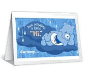 "A Little ""Hi"" greeting card"