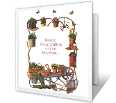 A Place for Dreams to Grow greeting card