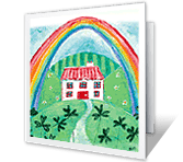 A Shamrock-special Day greeting card
