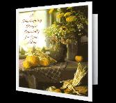 A Thanksgiving Prayer greeting card