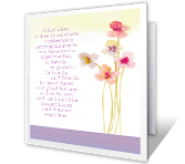A Time to Celebrate greeting card