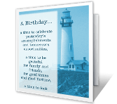 A Wish for Today and Tomorrow greeting card