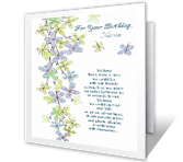 All Throughout the Year greeting card