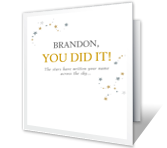 Amazing You greeting card