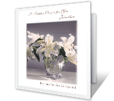 An Easter Prayer for You greeting card