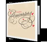Anniversary Joy greeting card