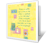 Babies are... greeting card