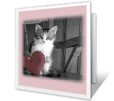Be Mine? greeting card