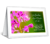 Beautiful Daughter, Mother, Person greeting card