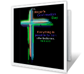Believe in God and You greeting card