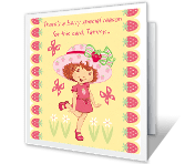 Berry Special You greeting card