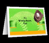Birthday Season greeting card