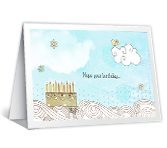 Birthday Smiles greeting card