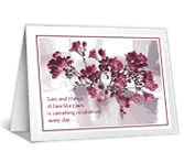 Celebrate Your Love! greeting card