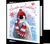 Christmas Cuddles greeting card