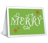 Christmas Snowflakes greeting card