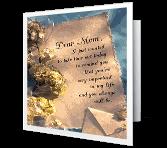 Dear Mom... greeting card