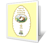 Dear Son and Family greeting card