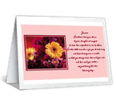 During Your Illness greeting card