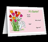 Egg-stra Big Wishes! greeting card